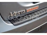 Накладка на задний бампер (ABS) LADA Vesta SW Cross с 2020
