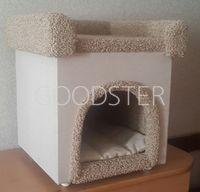 MasterGroom Домик для собаки и кошек, с крышей-лежанкой (Арт.4)